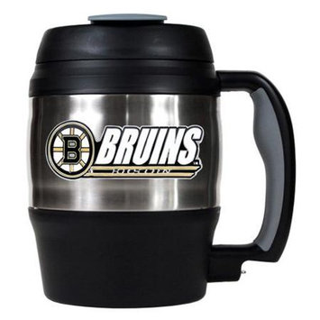 Great American Products Mtm00414 52Oz. Stainless Steel Macho Travel Mug With Bottle Opener Nhl Redwings