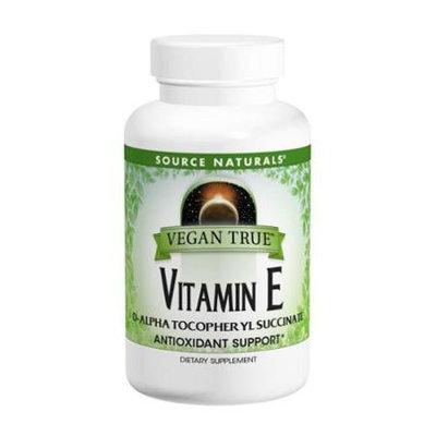 Source Naturals Inc. Source Naturals - Vegan True Vitamin E 400 IU - 50 Tablets