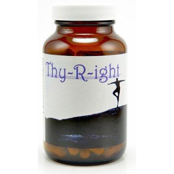 Vitamyr Natural Products Thy-R-ight (Thyroid Health) 120 Caps Natural Herbal Thyroid Support
