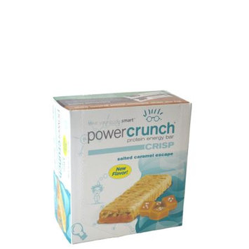 Bio-nutritional BioNutritional Research Group Power Crunch Protein Energy Bar Crisp Salted Caramel Escape 12 Bars