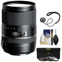 Tamron 16-300mm f/3.5-6.3 Di II PZD Macro Zoom Lens (for Sony Alpha Cameras) with UV/CPL/ND8 Filters + Kit