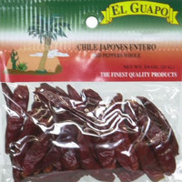 El Guapo Red Pepper Whole 0.75-Ounce -Pack of 12