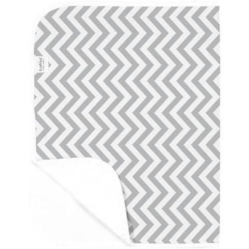 Babies R Us Kushies Waterproof Change Pad - Grey Chevron