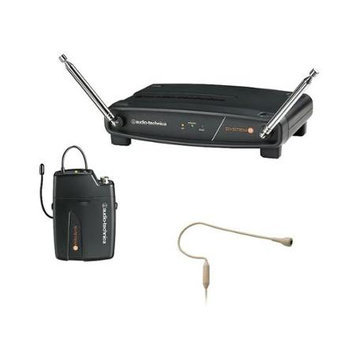 Audio-Technica ATW-801/H92 System 8 VHF Headset Microphone System - Beige