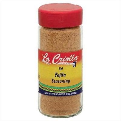 La Criolla 8 oz. Fajita Seasoning Case Of 12