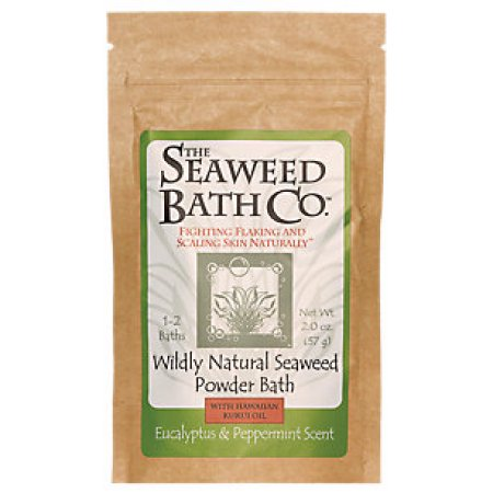 The Seaweed Bath Co. Wildly Natural Seaweed Powder Bath Eucalyptus & Peppermint Scent