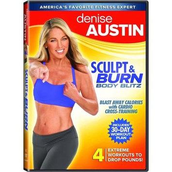 Lions Gate Denise Austin-sculpt & Burn Body Blitz [dvd] [ws/eng/2.0 Dol Dig]