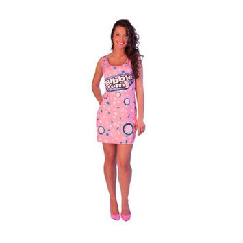 Incogneato Bubble Yum Costume Original Adult Tank Dress Standard One Size Fits Most