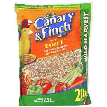 8 In 1 Wild Harvest Bird Food Canary & Finch 2 LB.