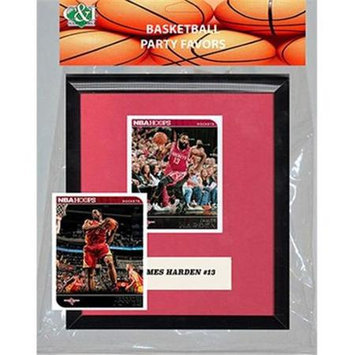 Candicollectables Candlcollectables 67LBROCKETS NBA Houston Rockets Party Favor With 6 x 7 Mat and Frame