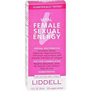Liddell Laboratories - Vital Female Sexual Energy Homeopathic Oral Spray - 1 oz.