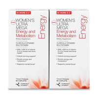 GNC Women's Ultra Mega(r) Energy and Metabolism Twin Pack