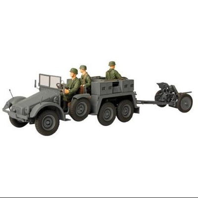 Forces of Valor German Kfz. 69 Towed Pak 36 Baltic States 1942 Diecast Vehicle UNXV8083 Forces Of Valor