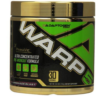 Adaptogen Science Warp-5 Pink Lemonade Blast - 30 Servings