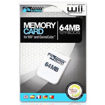 Komodo KMD Wii/Gamecube 64MB 1019 Blocks Memory Card