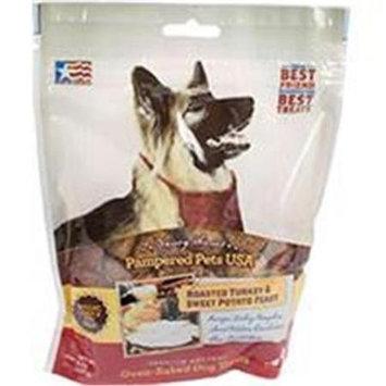 Pampered Pets Dog Treats - Turkey & Sweet Potato - 8 oz.