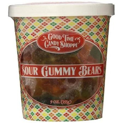 Pepper Creek Farms 195H Sour Gummy Bears - Pack of 12
