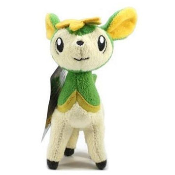 Jakks Pacific Pokemon Mini B & W Plush 7 Deerling