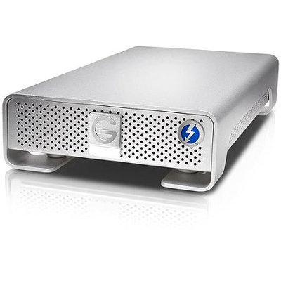 Hgst - G-tech G-Technology 3TB G-DRIVE with Thunderbolt External Hard Drive