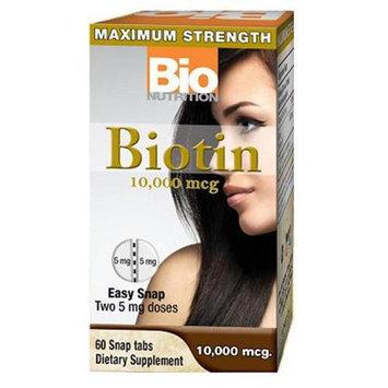 Bio-nutrition Bio Nutrition Biotin 10,000 mcg 60 Tablets