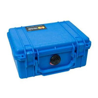 Pelican 1150 Watertight Hard Case with Pick 'N Pluck Foam Blue