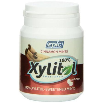 Epic Dental - Xylitol Sweetened Mints Cinnamon - 180 Mints