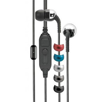 Scosche Increased dynamic Range Earphone with Universal Volume and Mic