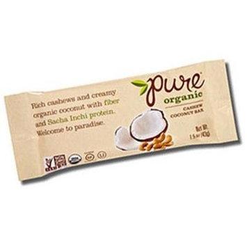 Pure Bar BPC1025226 Pure Bar Cashew Coconut - 12x1.5 OZ