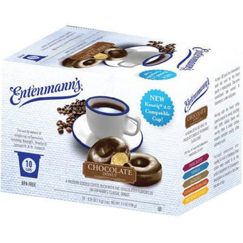 Entenmann's Coffee K-Cup Singles Chocolate Donut 10 K-Cups