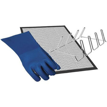 Masterbuilt Smoker & Grill Accessory Kit w/ Mat, Gloves & Rib Rack