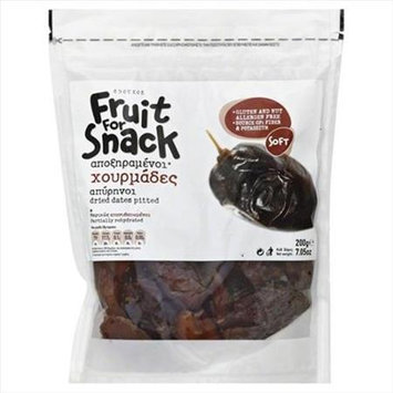 Sdoukos Fruit For Snack Dried Dates - 7.05 Bags Case Of 12