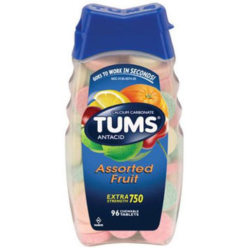 Tums Antacid Extra Strength 750 Assorted Fruit with Calcium