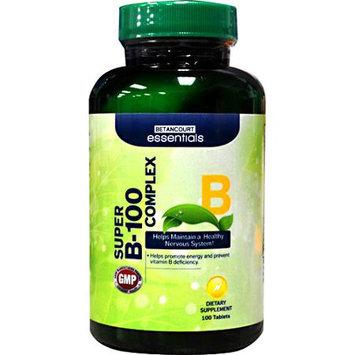 BETANCOURT ESSENTIALS Betancourt Essentials Super B-100 Complex, 100 Tablets