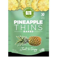 Farmers Crate Gluten Free Baked Fruit Thins Pineapple - 0.9 Ounce Pack of 8