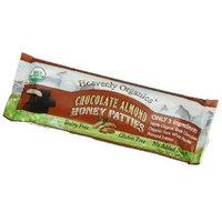 Heavenly Organics Honey Patties Chocolate Almond 1.2 oz