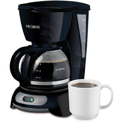 Mr. Coffee Black 4-Cup Switch Coffeemaker