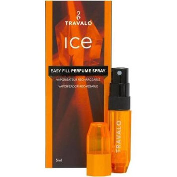 Reaction Retail ALC010 Travalo ICE Refillable Perfumes Atomizer Spray Orange