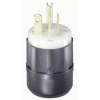 Leviton Industrial Grade Straight Blade Plug 061-5366-C