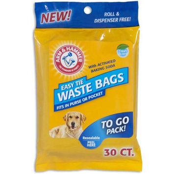 Arm & Hammer Easy Tie Pet Waste Bags 30 ct