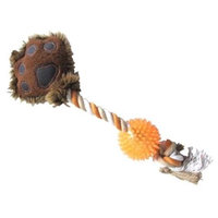 Best Pet Supplies RT801 Paw with Rope Tug 16 in.