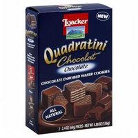 Loacker Wafer Cookies - Chocolate - 4.8 OZ