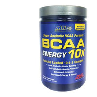 MHP BCAA 10X Energy Fruit Punch 30 Servings