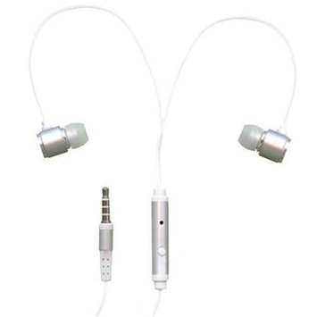 Rnd Accessories RND Noise Reducing Ear Buds with built-in microphone (silver)