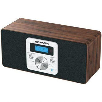 Sylvania Sp208bt-brown Wooden Bluetooth[r] Speaker