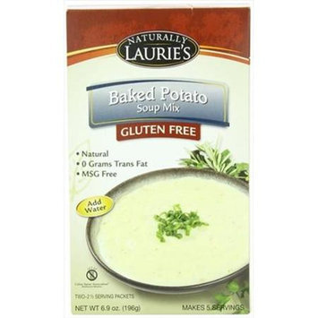 Naturally Lauries Mix Soup Baked Potato 196 Gr Pack of 6