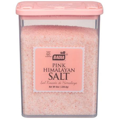 Badia 8 oz. Pink Himalayan Salt Grinder Case Of 12