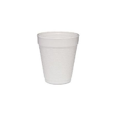 Dart Container Foam Cups Small Foam Drink Cup, 8 oz, Hot/Cold, White