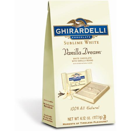 Ghirardelli Chocolate Sublime Vanilla Dream White Chocolate