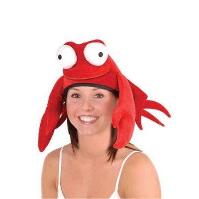 Beistle 60223 Plush Crab Hat - Pack of 6