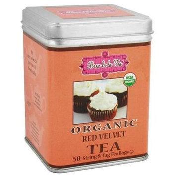 Brew La La - Organic Tea Red Velvet - 50 Tea Bags